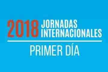 Jornadas 2018 - Primer Dia